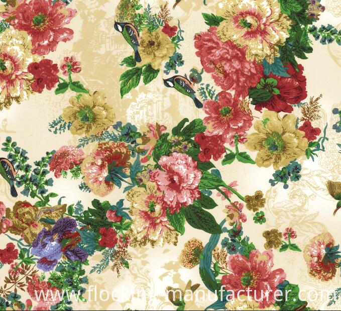 Polyester Digital Printed Fabric for Dress, Tops, Skirt