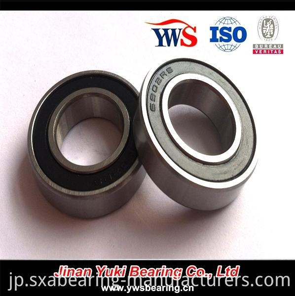 S6902-2RS Deep Groove Ball Bearing of Bicycle Parts