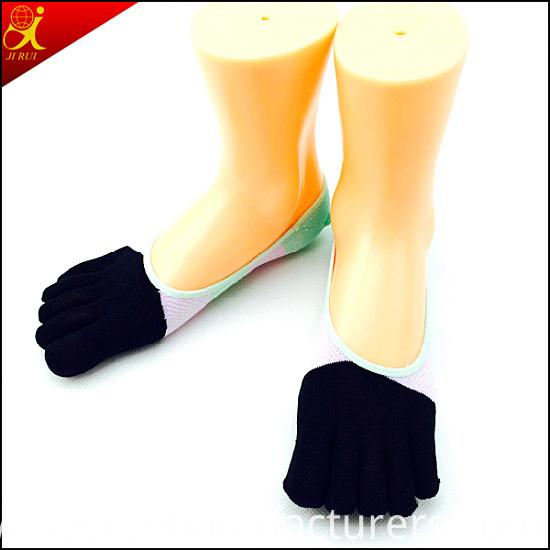 Women Toeless Socks Thin Simple Style Indoor Wear