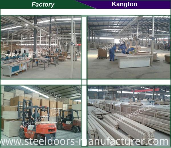 Sapeli /Sapele Solid Wooden Composite Door (KD02A-S) (Solid Wood Doors)