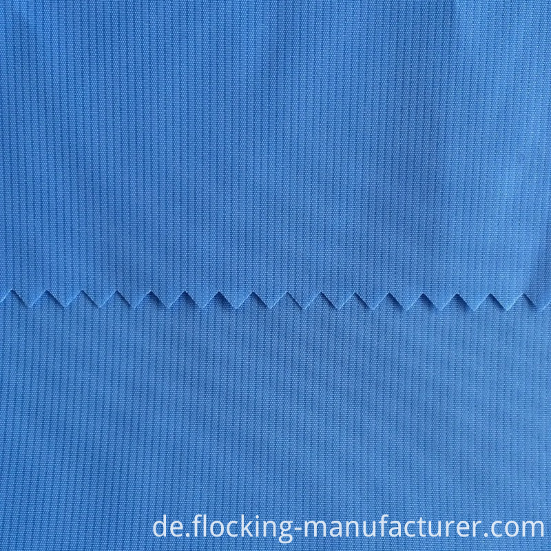 100% Polyester Shiny Memory Fabric for Trench Coat