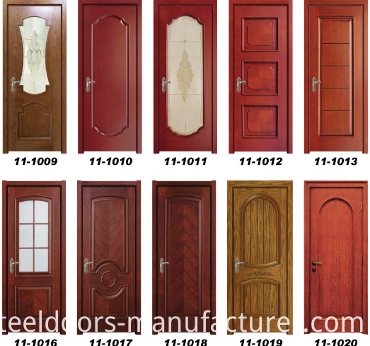 High Quality Wooden Interior Door (11-1009) with Glass
