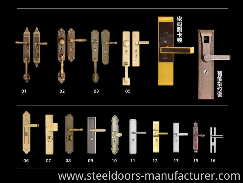 High Quality Steel Door Safety Steel Door Swing Door (Fd-531)