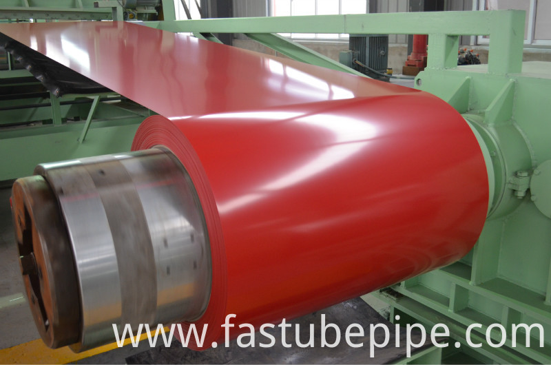 PPGI Red Color Coated Steel Coil