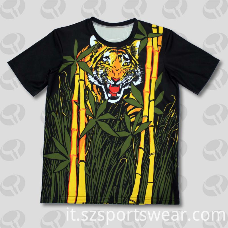 Custom High Quality Funny Sublimation Printing T-Shirts