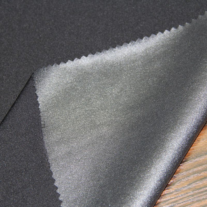 Polyester Crepe Spandex Fabric for Fashion Garment