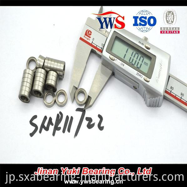Smr117zz Stainless Steel Miniature Ball Bearing
