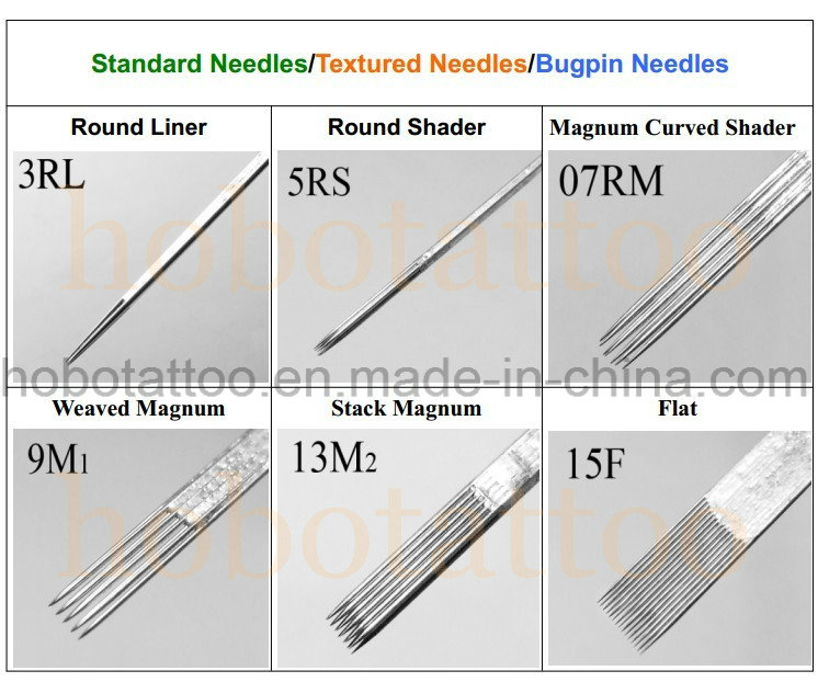 Professional Sterilized Disposable Tattoo Needle Supply with CE Certificate