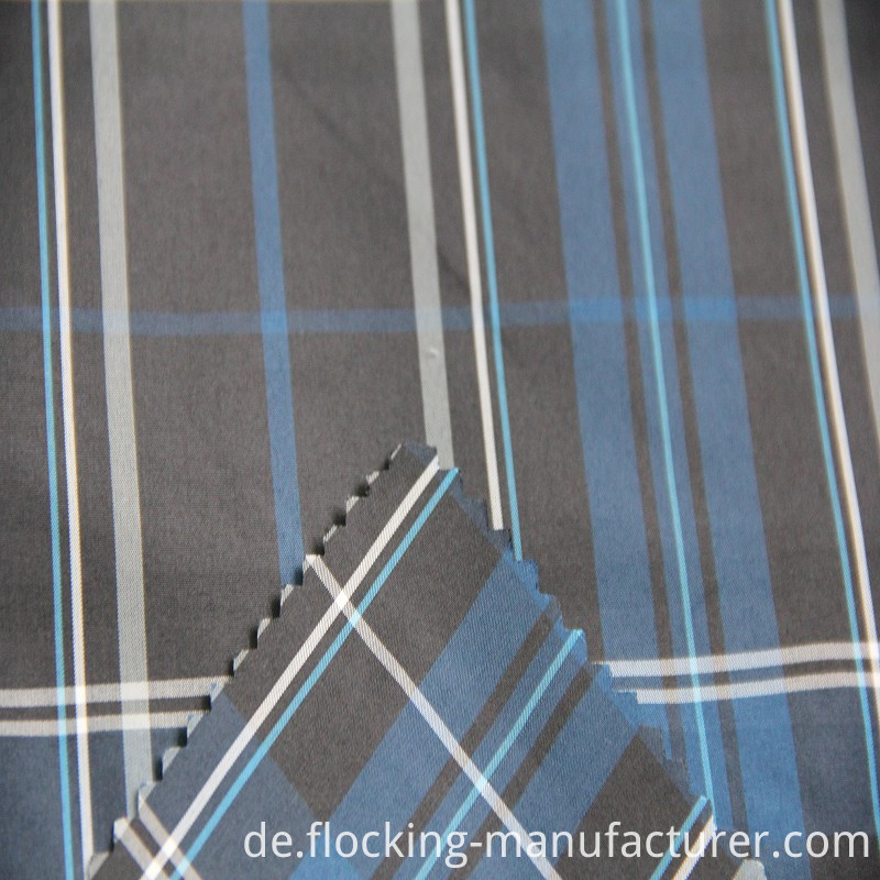 Polyester Yarn Dyed Fabric for Shirt or Garment Lining