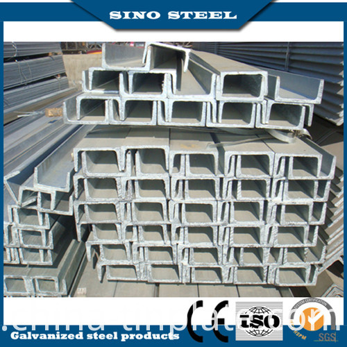 Hot Sale High-Quality Galvanized Steel U Beam From China