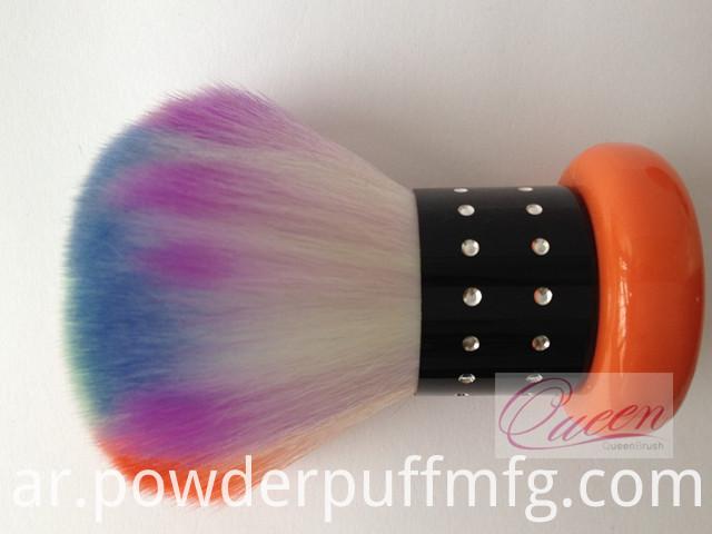 Wholesale Fancy Hair Makeup Kabuki Brushes Metal Powder Kabuki Brush