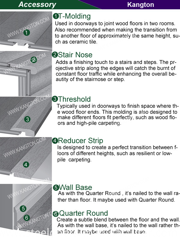 New Design Solid Hardwood Flooring (hardwood flooring)