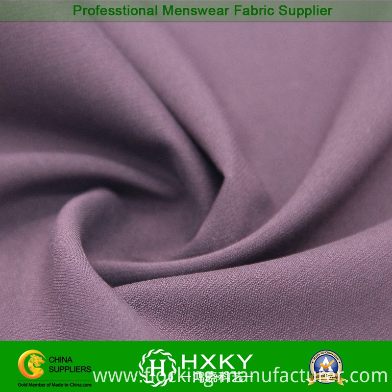 Spandex Poly Fabric with Shadow Twill for Men's Jacket