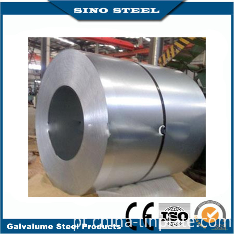 ASTM A792 Az50 G300/G550 0.6mm Galvalume Steel Coil for Structual