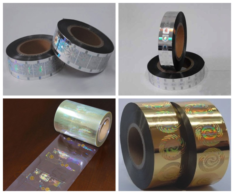 Hot Stamping Hologram Embossing Material