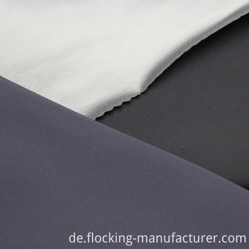 Polyester Spandex Knitted Fabric with PU TPU Coating for Apparels