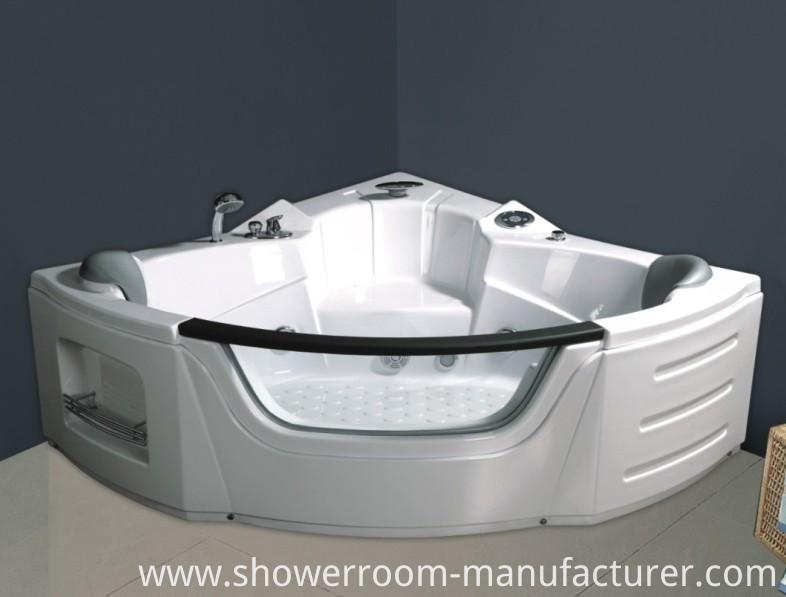 Double People Corner Indoor Jacuzzi Bathtub for Shower (CL-350)