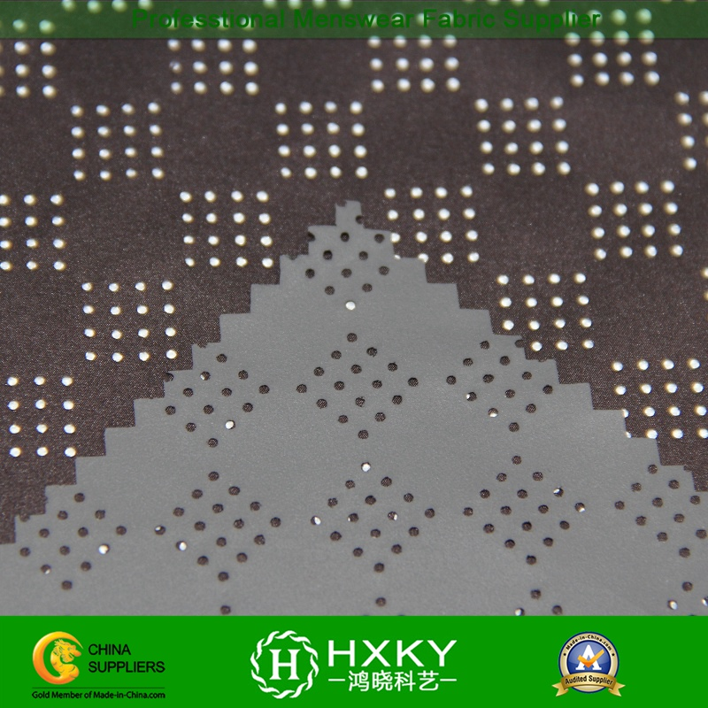 Perforated Poly Fabric with Coated for Garment