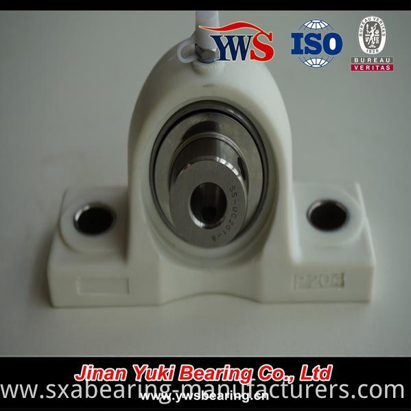 Stainless Steel Insert Ball Bearing with Pillow Block Housing