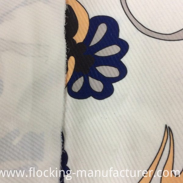 Printed Polyester Twill Jacquard Fabric for Garment and Home Textiles