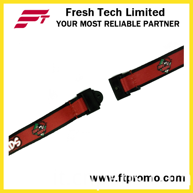 OEM Promotional Gift Lanyard with Heat Transfer Printing
