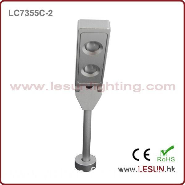 High Quality 3W Slim LED Jewelry Pole Light for Showcase LC7355c-N-3