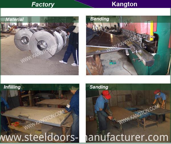 New Style Double Steel Door (double steel door)