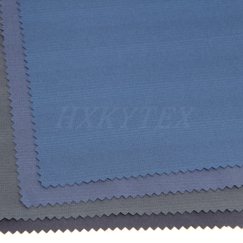 Polyester Pongee Fabric with Gradient Color for Jackets