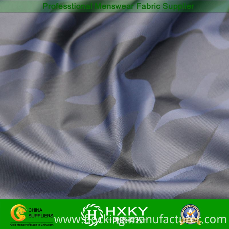 100%Polyester Yarn Dyed Fabric with Camouflage Pattern for Jacket or Trench