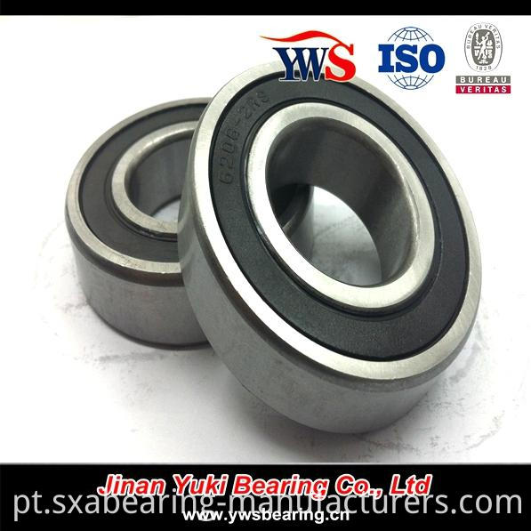 6206-2RS Deep Groove Ball Bearing for Motorcycle Parts
