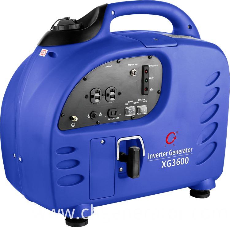 3600W 3.6 Kw Gasoline Digital Inverter Generators (XG3600)