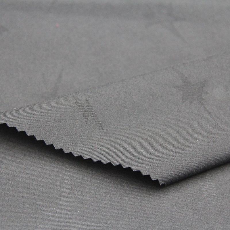 88%Nylon 12%Spandex Jacquard Spandex Fabric for Outdoor Sportswear