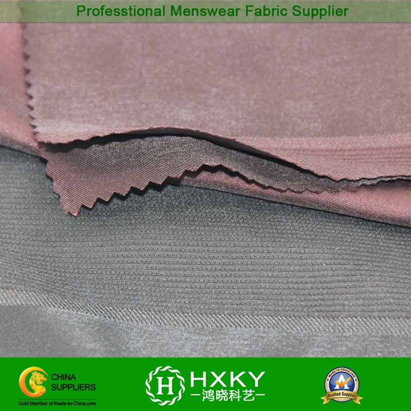 Compound Polyester Double Layered Fabric with Jacquard for Garment