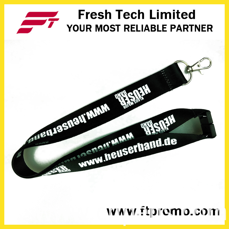 Promotional Gift Polyester Lanyard with Logo