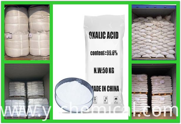 Oxalic Acid (99.6%Min) for Industry Use