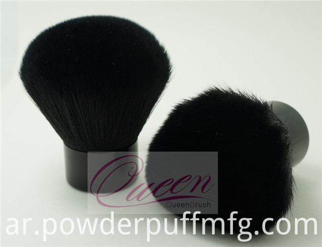 35mm Diameter Black Cosmetic Powder Brush