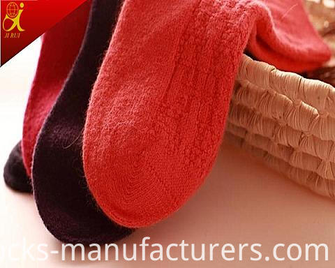 High Quality Wool Sock Women Pure Color Socks Wholesale