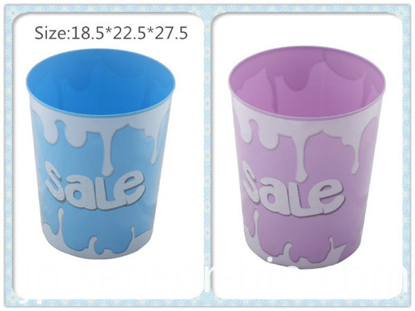 Creative Design Round Open Top Waste Bin (FF-5228-5)