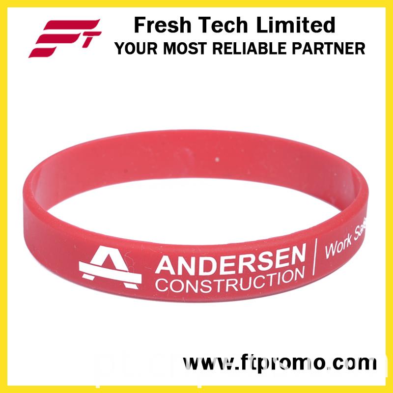 OEM Silicone Wristband Promotional Silicone Bracelet