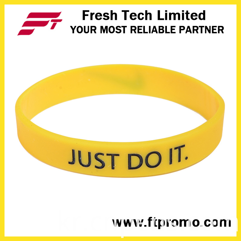 Wholesale Custom Design Silicone Wristband