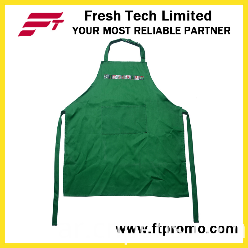 High Quality 100%Cotton Apron with Printed Logo