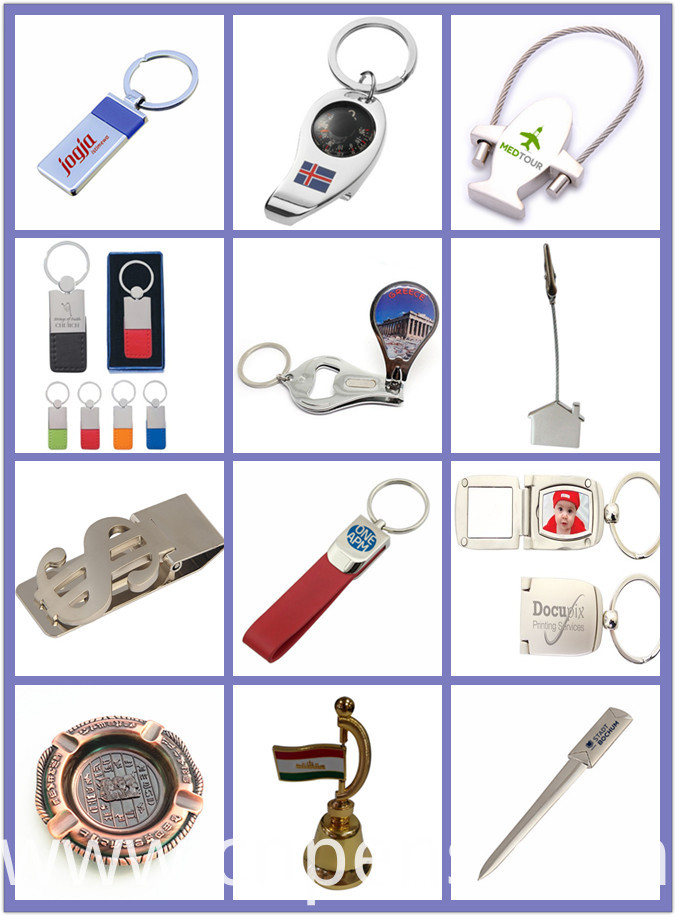 Souvenir Unique Design Gifts Popular Calendar Keychain for Promotion (F1029)