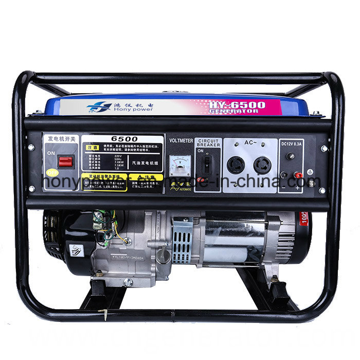 2-7kw Tiger Portable Air Cooled 4-Stroke Gasoline Generator