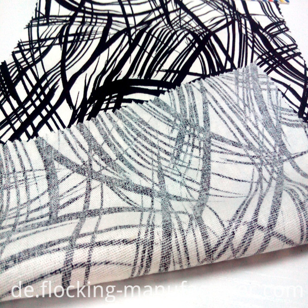 Linen Viscose Blending Printed Fabric for Garment & Home Textiles