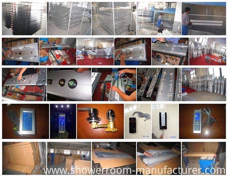 High Tray 90*90cm Bathroom Shower Room (ADL-8908)