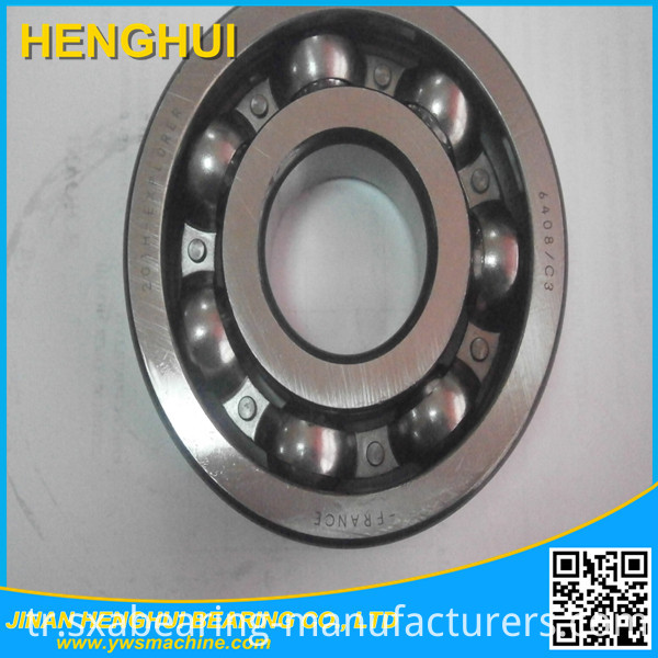 6408 Deep Groove Ball Bearing for Motorcycle