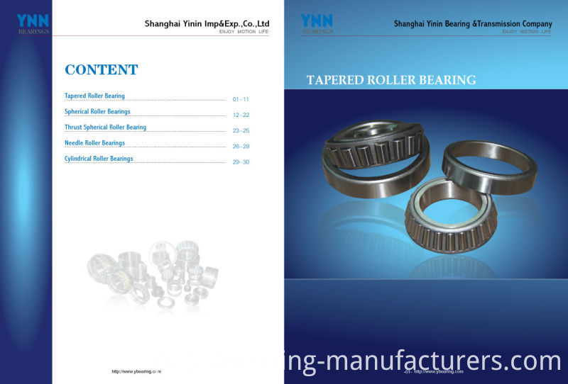 High Quality Tapered Roller Bearings Tapered