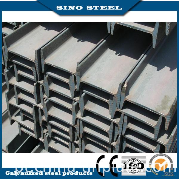 Q235 Q345b 100*100*6*8mm Hot Rolled Steel H Beam