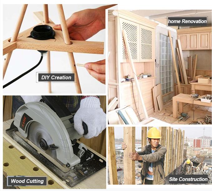 Mini Hand Electric Tool Table Saw Circular Saw (AT9235)