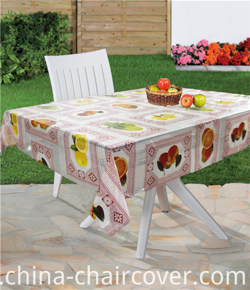 PVC Printed Clear Table Cloth in Roll